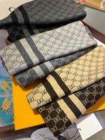 Écharpes de marque de mode, écharpe de design, toutes correspondances pour hommes et femmes, 3 couleurs, taille 30 * 180cm