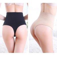 Frauen nahtlos Abnehmen von PES Hohe Taille Bauchsteuerung Unterwäsche Body Shaper Tangas Bulifter Panty Strap Knickers XXXL1