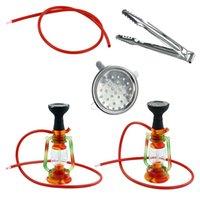 11.4'' Lantern hookah glass bong water pipe dab rigs silicone bongs use for smoking