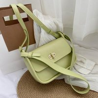 Evening Bags 2021 Fashion Simple Small PU Leather Crossbody Summer Travel Solid Color Shoulder Handbags And Purses
