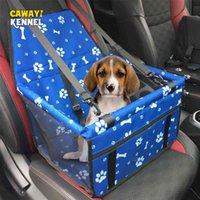 Cawayi Kennel حيوانات أليفة حقائب الكلب غطاء مقعد السيارة حامي الأرجوحة الناقل للكلاب القطط النقل gato perros accesorios