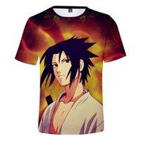 Erkek T-Shirt Cloudstyle Anime 3D Erkekler Naruto Karikatür Baskı Kısa Kollu Tee Gömlek Moda Üst Streetwear Artı Boyutu 4XL