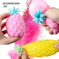 DHL Fun Fun Ananas Soft Soft Stress Stress Stress Stress Releveur Jouet Pour Enfants Adulte Fidget Squishy Antistress Antistateurs Créativité Jolie Fruit Jouets