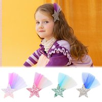 MQSP Sequin Lace Small Hairpin for Baby Girls Toddler Fashion Cute Hair Clips Accessories Kids Princess Kawaii Barrettes Party Supplies Children