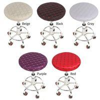Решенные табуретки с круглым сиденьем Корпусные подушки Корпусные подушки втулки хлопчатобумажная ткань для волос защитника для волос