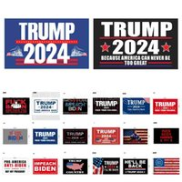 46 designs direct factory 3x5 Ft 90*150 cm save america again Trump Flag For 2024 President USA DHL 3-7 days Ships