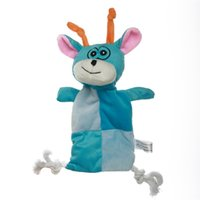 Pascua perrito perrito cuerda de algodón peluche juguetes 4bb squeaker animal estilos 2052 v2