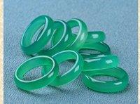 미얀마 믹스 사이즈 반지 + 무료 배송 A1의 100 % 자연 미세 옥