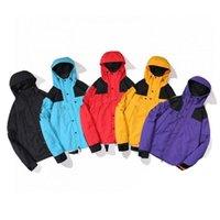 Мужские дизайнерские куртки писем печатает пэчворк солнцезащитный крем тонкое пальто роскошные мужчины женщины мода ветровка NFSIZE M-2XL