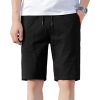 Woodvoice Brand Coton Shorts Mens Summer Trend Plus Taille 5XL Loisirs Loisirs Solide Couleur Solid Beach Pantalon Homme Qualité Casual Homme Hommes