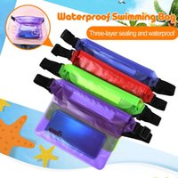 Waist Bags Waterproof Swimming Bag Ski Drift Diving Shoulder Pack Underwater Mobile Phone Case Cover For Beach Boat Sports