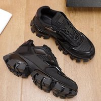 Designe Mens Cloudbust Thunder Rahat Ayakkabılar Örgü Sneakers Lüks Tasarımcı Boy Sneaker Işık Kauçuk Taban 3D Eğitmenler Bayan En Kaliteli Büyük Boy 36-46 Kutusu Ile