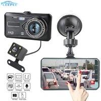 "4 ""HD 1080P Video Recorder Kamera Dash Cam Auto Dashcam Touchscreen Auto DVR Zubehör G-Sensor WDR Dual Linse DVRs"