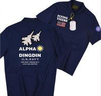 Tigri volanti T-shirt a maniche corte T-shirt da uomo Polos Aviator Avia Force Alpha Dingdin