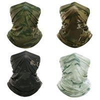 3D sem costura faixa mágica camuflagem pescoço garganta rosto capa headwear outdoor balaclava bandana proteção uv cacheck cachecol 670 z2