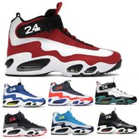 Griffey 1 scarpe da basket scarpe da sneakers Airo maxes puro platino midntght navy safari varsity royal inductkid 2021 uomini chaussures tennis trainer