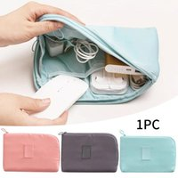 Storage Bags Multi Function Power Bank Bag Travel Portable Electronic Organizer Waterproof USB Cable Durable Shockproof Dormitory