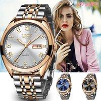 Luxusmänner und Damenuhren Designer-Marken-Uhren TZ en Acier Inoxydable gießen Femmes, Marque de Luxe, Tanche, Couleur oder, Cadeau,