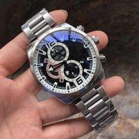 2021 Мужские Часы Многофункциональные Часовые часовые Часы Люки Повседневная Часы Нержавеющая Сталь Часы Orologi Da Uomo Di Lusso