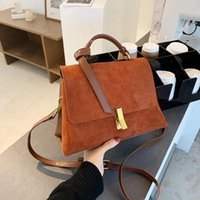 Suede Leather Black Shoulder Women 2021 Sac Bags A Purses Fashion For Female Crossbody Handbags And Bag With Scarves Main Lianquan001 Tdcq