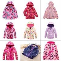 Spring Autumn Brand New Unicorn Jacket For Girls Coat Polar Fleece Windbreakers Teenage Outerwear Korean Kids Clothes For 3-12 Y 1474 Y2