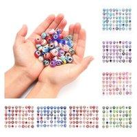 Beads sueltas 54pcs / lote conjunto Pulsera Beads Materiales Hechos a mano Accesorios DIY Accesorios Charms Pulsera 8 Estilo T2I52291