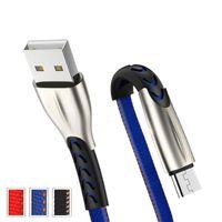 Çinko Alaşım 3A Hızlı Şarj Denim USB Veri Kablosu Samsung Galaxy Kabloları için Android Tip-C ile Uyumlu Paket Yok