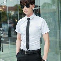 Erkek Elbise Gömlek Saf Renk Ipek Moda Sokak Gömlek Gömlek Rahat Moda Yüksek Kalite Erkek Katı Befw