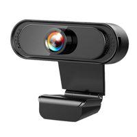 Câmera de webcam digital de gravação de vídeo com microfone para webcams de laptop para PC