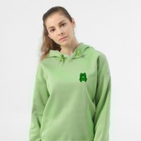 Women's Hoodies & Sweatshirts Funny Frog Hoodie Women Oversized Harajuku Sweatshirt Autumn Winter Casual Pullover Tracksuit Long Sleeve Unis