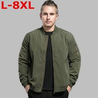 Men's Jackets 10XL 9XL PLUS SIZE 8XL 6XL Brand Jacket Men Clothes Trend College Slim Fit High-Quality Casual Mens And Coats