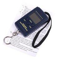 Wysokiej Jakości 1 sztuk Balance 40 kg x 20g Wiszący bagaż elektroniczny przenośne cyfrowe wagi wagi skala skali kieszeniowej Hurtownie 4986 Q2