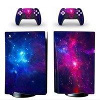 Galaxy Style Sticker decorations for Sony PS5 Console and 2 ...