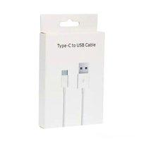 마이크로 USB 충전기 케이블 유형 C 고품질 1m 3ft 2m 6ft sync 데이터 케이블 삼성 휴대 전화에 대 한 빠른 충전 소매 상자