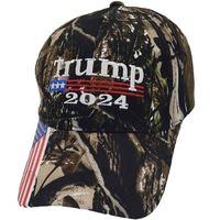 President Donald Trump 2024 Hat Camouflage Baseball Ball Caps Women Mens Designers Snapback Anti Biden Summer GWB6490