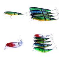 1pcs 3 Segment Fishing Lure 11cm 15.5g 3d Eyes Lifelike Fishing Hard Bait Crankbait With 2 Hooks Pesca Wobbler Fishin jllxrJ 647 X2
