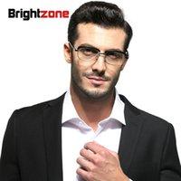 BrightZone 2020 donne uomini da lettura occhiali da lettura in lega nera acetato fotogrammi lenti in vetro occhiali da vista unisex anti affaticamento lettore occhiali da letto