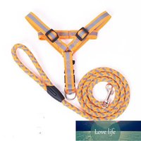 Dog Collars & Leashes Comfortable And Durable Teddy Pomeranian VIP Labrador Reflective Leash Pet Chest Strap Cat Traction Supplies
