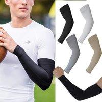 Sporthandschuhe Unisex Kühlarmarmhülsen Abdeckung Radfahren Laufen UV Sonnenschutz Outdoor Männer Nylon Cool Für Hide Tattoos 2 stücke