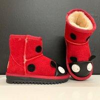 baby Boots Boys girls Monolith kids children winter wool snow boot chaussures de designer Bottes Christmas Loafers