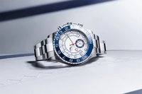 44mm Bigger Size 3 Colore Orologio da polso da uomo Uomo Orologi Relojes Orologi Argento Acciaio inox Automatico Automatico Meccanico Big quadrante Cronografo Full Funzione