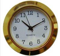 2021 Новый 1 7/16 дюймов Золотая пластиковая вставка Часы с IVORY Арабский циферблат Поддача часы PC21S Movement
