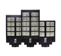 600W 800W 1000W LED Lámpara solar Luz de la pared de la calle Super brillante Sensor de movimiento Sensor al aire libre de la seguridad del jardín con el polo