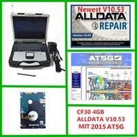 2021 mais novo alldata v10.53 e m ... LL 2015 ATSG Auto Repair 3 em 1 TB HDD instalado no laptop CF30 4GB pronto para uso