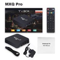 لاعب الشبكة 4K 4G + 64G مجموعة أعلى مربع المنزل التحكم عن بعد مربع التلفزيون الذكية الوسائط ل mxqpro5g RK3229-5G إصدار نظام أندرويد