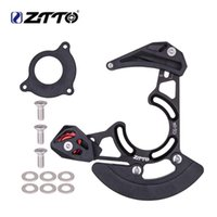 Bisiklet Zincirleri ZTTO DH MTB Bisiklet Zincir Kılavuzu Bırak Catcher BB Dağı Koruyucu Sabitleyici Dağ Çakıl Tek Disk 1x