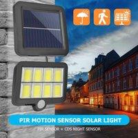 Solar Lamps LED Powered Outdoor Wall Light Waterproof PIR Motion Sensor Garden Park Lighting Courtyard Porch Fence Street Lamp