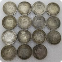 1886-1901 Srits Settlements Queen Victoria 50 Cent Copy Monedas