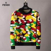 Paris mens women print Sweaters classical color letter printing Sweater casual high quality fashion womens designer Sweatershirts D-7