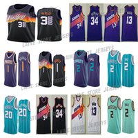 Devin 1 Booker Mitchell Basketball Jersey 3 Chris Steve Paul Nash Charles 34 Barkley Lamelo 2 Ball Gordon 20 Hayward 2021 Jerseys